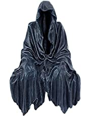 Grim Gothic Reaping Solace The Creeper Reaper Sitting Statue, Small Art Resin Desktop Ornament Sculpture