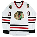Clark Griswold #00 X-Mas Christmas Vacation Movie Hockey Jersey Stitched Men Ice Hockey Jerseys (White, S)