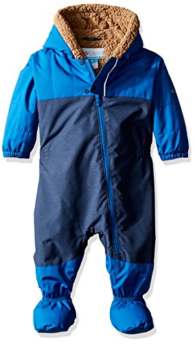 Columbia Baby Cute Factor Bunting, Marine Blue, 18-24 Months