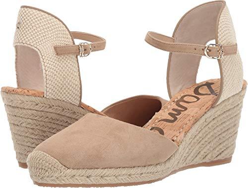 (Sam Edelman Women's Payton Shoe, Oatmeal Suede, 8.5 M US)