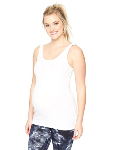 - Motherhood Rib Knit Maternity Tank Top