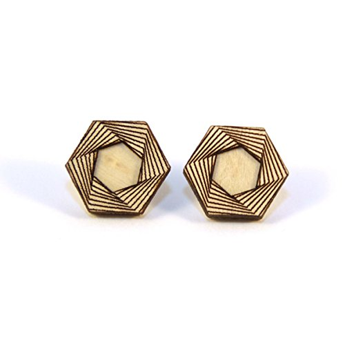 (AMULET | hexagon studs)