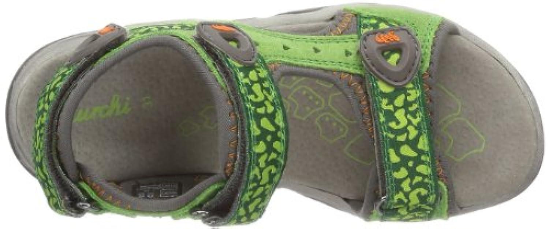 Lurchi Boys' Brian Open Sandals Green Size: 8 Child UK