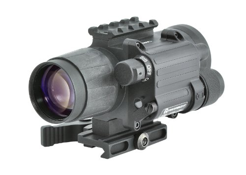 Armasight CO-Mini GEN 3+ Alpha MG 64-72 lp/mm Night Vision Clip-On System with Manual Gain, Black