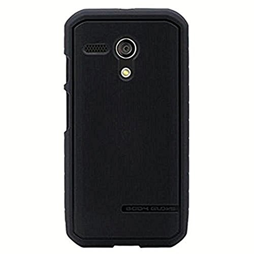 Body Glove Motorola Moto G XT1028 Dimensions Satin TPU Case - Retail Packaging - Black