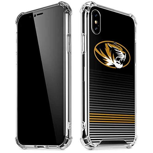 - Skinit University of Missouri Striped iPhone X/XS Clear Case - Officially Licensed University of Missouri Phone Case - Slim, Lightweight, Transparent iPhone X/XS Cover