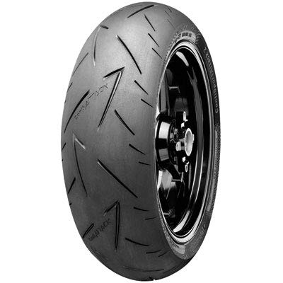 150/60ZR-17 (66W) Continental ContiSport Attack 2 Hypersport Radial Rear Motorcycle Tire for Harley-Davidson Sportster 883 Superlow XL883L (ABS) 2014-2017