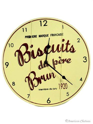 Amazon.com: American Chateau Wall Vintage Kitchen Clock Wood Deco ...