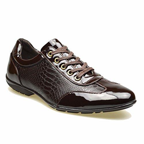 ClassyDude ,  Herren elegante Sneakers Marrón - marrón