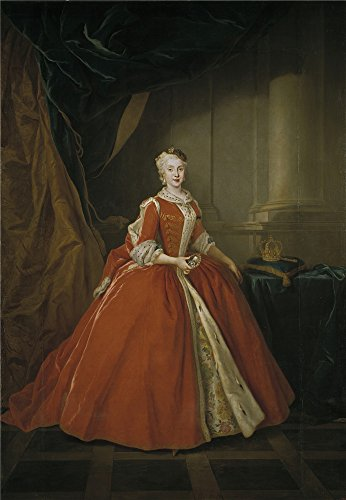 'Silvestre Louis Maria Amalia De Sajonia Reina De Espana 1738 ' Oil Painting, 8 X 12 Inch / 20 X 29 Cm ,printed On Perfect Effect Canvas ,this Vivid Art Decorative Prints On Canvas Is Perfectly Suitalbe For Laundry Room Decor And Home Gallery Art And Gifts