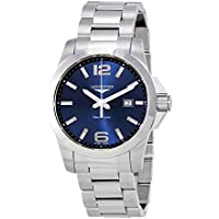 Longines Conquest L3.760.4.96.6 Blue dial Stainless Steel 43mm