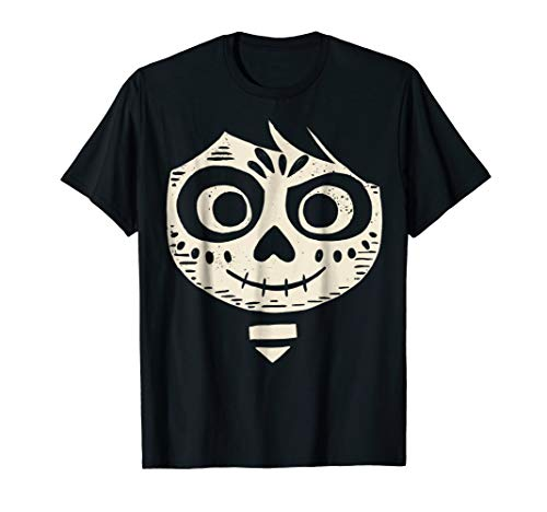 Disney Pixar Coco Miguel Face Halloween Graphic T-Shirt]()