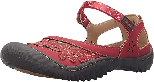 Jambu Jsport Women's Peony Red Synthetic Casual Shoe - 7 B(M) US (For Micro Sale 600)
