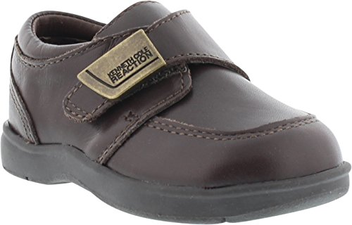 Kenneth Cole Reaction Tiny Flex Loafer, Chocolate Brown, 6 M US Child Infant Chocolate