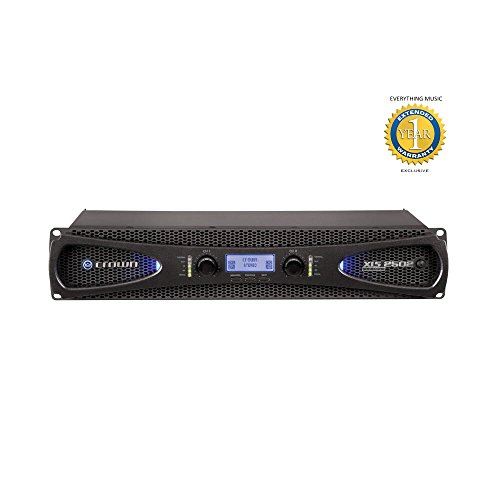Crown Xls Amp (Crown XLS 2502 2-channel, 775W 4Ω Power Amplifier with 1 Year Free Extended Warranty)