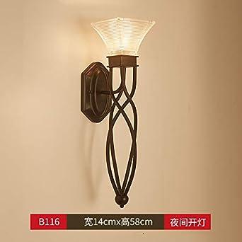De Applique Nordic Murale Lampe Chevet Simple Chambre Agorl mwN80n