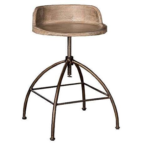 Phenomenal Amazon Com Hillsdale Furniture Adjustable Stool Wood Seat Evergreenethics Interior Chair Design Evergreenethicsorg