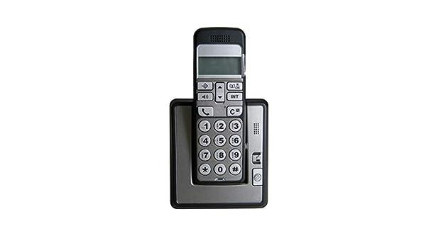 TeléFono Antiguo con BotóN Pulsador Identificador Llamadas Pantalla Grande TeléFono InaláMbrico Digital Ancianos InaláMbrico Hogar TeléFono Fijo TeléFono Bienvenida: Amazon.es: Hogar