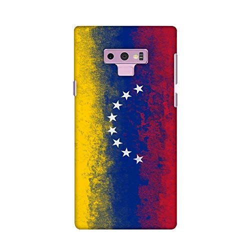 (AMZER Slim Fit Handcrafted Designer Printed Snap on Hard Shell Case Back Cover Skin for Samsung Galaxy Note 9 - Love for Venezuela HD Color, Ultra Light Back Case)