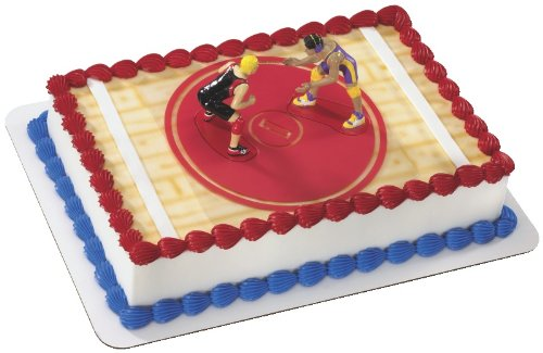 Wrestling DecoSet Cake Decoration