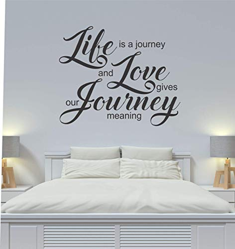 Amazon Com Life Is A Journey And Love Gives Our Journey Meaning