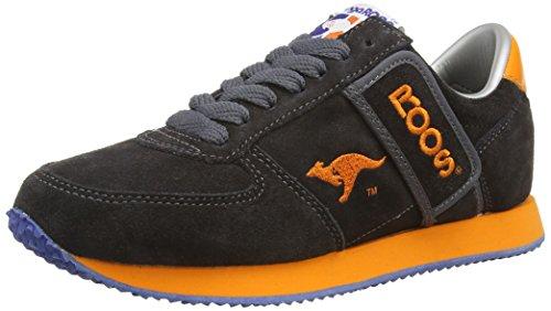 Grau Charcoal KangaROOS Erwachsene Combat Sneakers Unisex OnBxqIvB