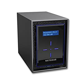 NETGEAR ReadyNAS RN422 2 Bay Diskless High Performance NAS, 20TB Capacity Network Attached Storage, Intel 1.5GHz Dual Core Processor, 2GB RAM, (RN42200) 55 HIGH-PERFORMANCE - Get 2x faster business application processing with the latest 64-bit technology STORAGE FROM THE NETWORK EXPERT- Professional grade NAS, designed in-house by the market leader in SMB networking YOUR BEST BACKUP PLAN - Protect your data against ransomware with the most effective on-premises data backup solution