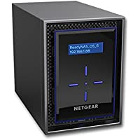 NETGEAR ReadyNAS 2-Bay High Performance Network Attached Storage, Diskless, 20TB Capacity, Intel 1.5GHz Dual Core Processor, 2GB RAM (RN42200-100NES)