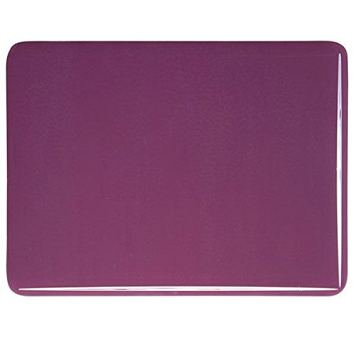 90COE Made From Bullseye Glass 4oz Plum Opalescent Fusible Glass Medium Frit