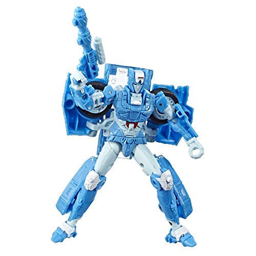 Transformers Toys Generations War for Cybertron Deluxe Wfc-S20 Chromia Action Figure - Siege Chapter - Adults & Kids Ages 8 & Up, 5