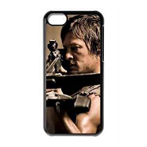 Customized Cell Phone Case Cover for iPhone 5C with DIY Design Walking Dead
