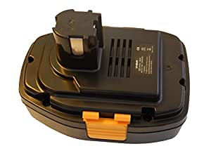 vhbw NiCD batería 1300mAh para herramienta eléctrica Panasonic EY3544, EY3544GQK, EY3551, EY3551GQ, EY3551GQW, EY3552 por EY9251, H1812.