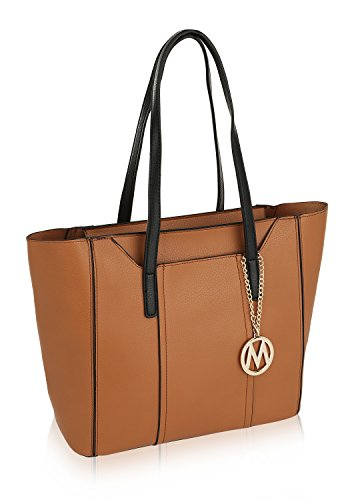 MKF Collection Light Weigh Kyra Tote/Shoulder Bag by Mia K Farrow Collection Large Tote