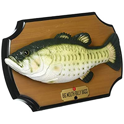 The Original Big Mouth Billy Bass Singing Sensation Fish Motion Activated: Toys & Games