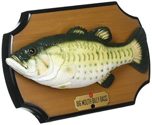 The Original Big Mouth Billy Bass Singing Sensation Fish Motion Activated (Wall Fish Plaque)