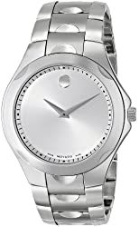 "Movado Men's 606379 ""Luno Sport"" Stainless Steel Bracelet Watch"