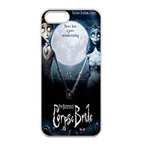 Custom Personalized Corpse Bride Back Cover Case TPU for iphone5,5S JN5S-876