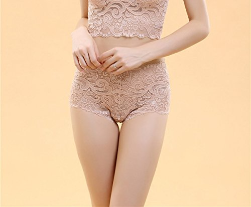 Invisible Sleeveless Ahatech Soft Shapewear Lace Beige Comfortable wCCntx