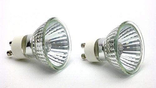 20w GU10 Halogen Reptile Basking Bulbs, set of 2 (Custom Cage)