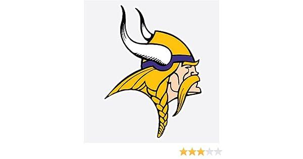 Minnesota Vikings Horn Fan Vinyl Sticker Decal *MANY SIZES* Bumper Cornhole Car