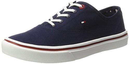 Tommy Hilfiger de Sm M1285ara 3d3, Zapatillas para Mujer Azul (Tommy Navy 406)