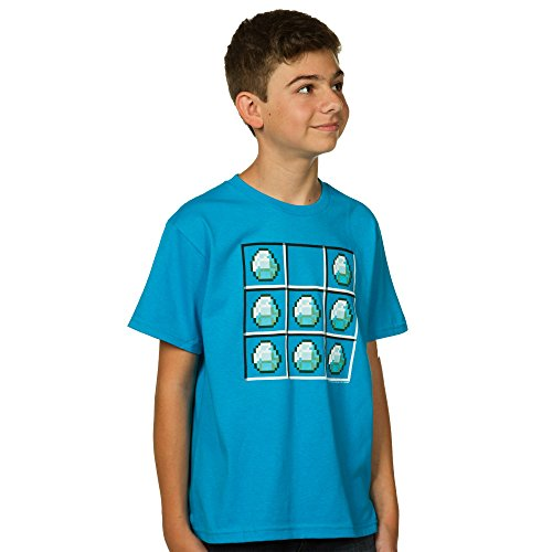 minecraft-diamond-crafting-youth-short-sleeve-t-shirt-medium
