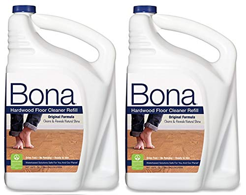 Bona New Value Size Package Hardwood Floor Cleaner Refill, 256-Ounces