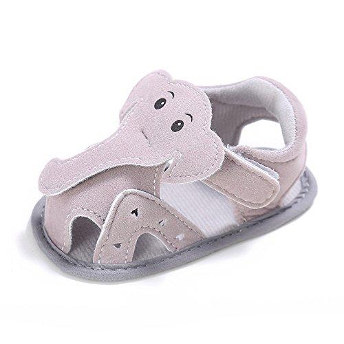 Estamico Baby Boys Elephant Flat Summer Sandals US Size