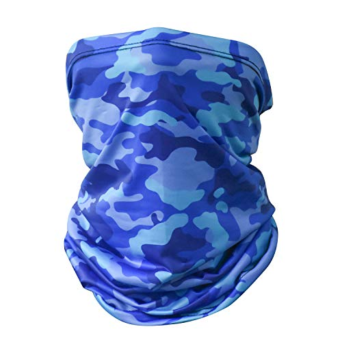 4 Colors Breathable for Outdoor Activities Mangotree Neck Gaiters Face Mask Mouth Cover Bandanas Headscrarf Anti-Dust/&Sun Protection Lightweight/&Cool Feel