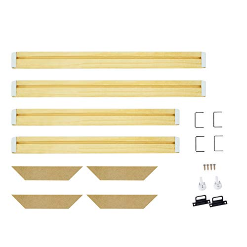 """WITUSE Canvas Frame Solid Wooden Profession Frame Wall Art Stretcher Strips Gallery Wrap -20""""x24"""""""