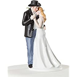 Wedding Collectibles Old Fashion Lovin Cowboy Western Wedding Cake Topper
