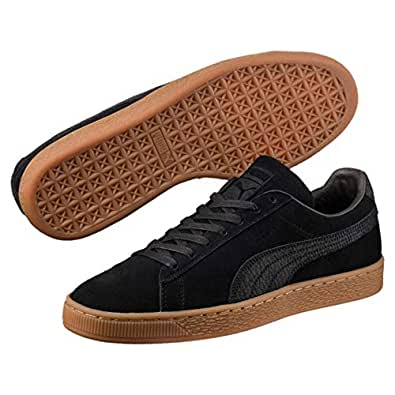 PUMA Adult's Suede Classic Natural Warmth, Black EU 39