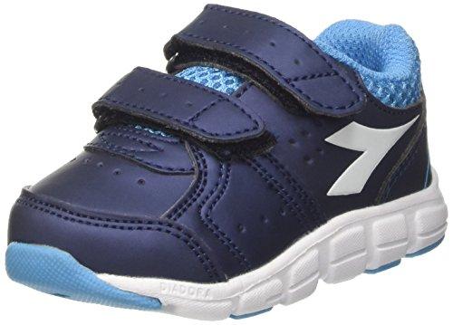 Diadora Shape 8 SL V I, Zapatillas de Running Para Niños Azul (Blu Estate/azzurro Cielo Inten)