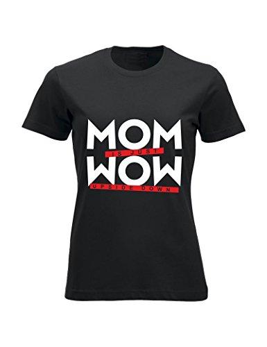Navy idea Nera Mom T Maglietta onomastico regalo della M Tuttoinunclick Mamma festa GR76 shirt compleanno Blu Donna Onwnq8a1